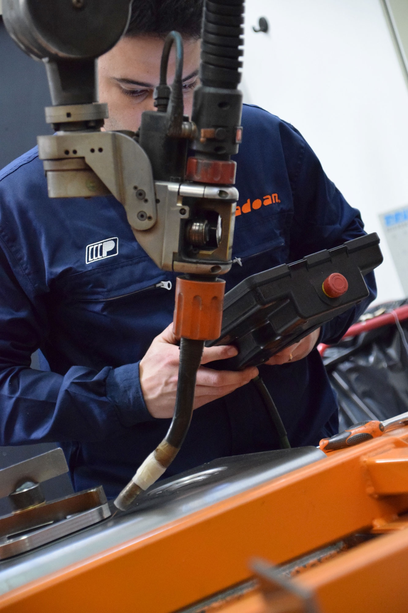 MIG/MAG Automatized welding tech