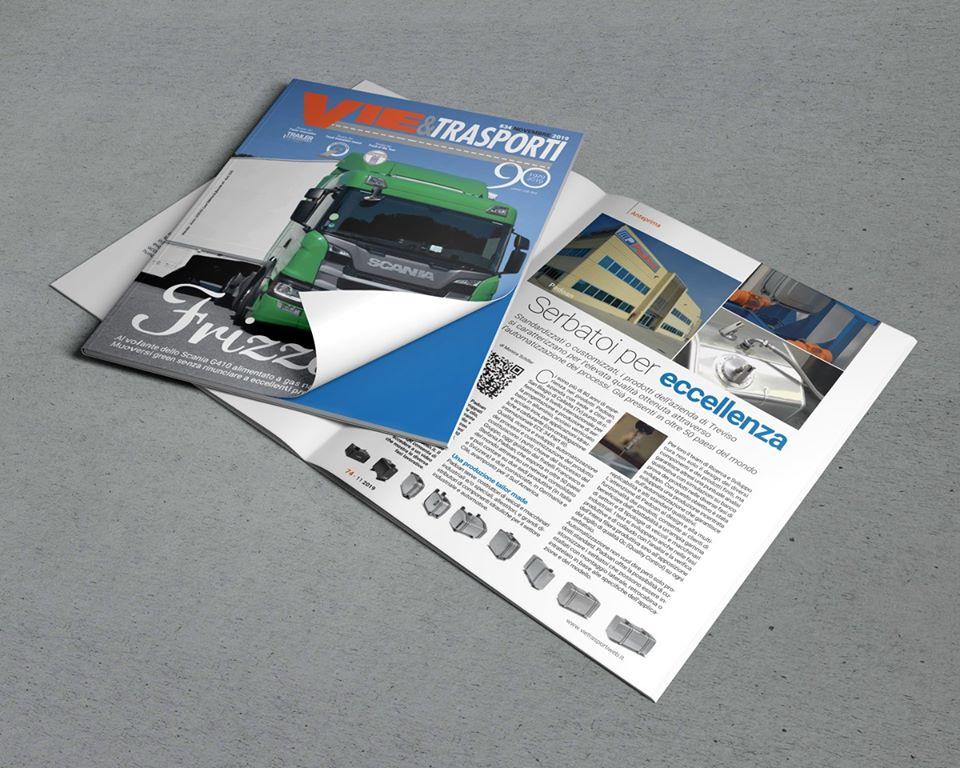 NEWS - Padoan on VIE&TRASPORTI Magazine