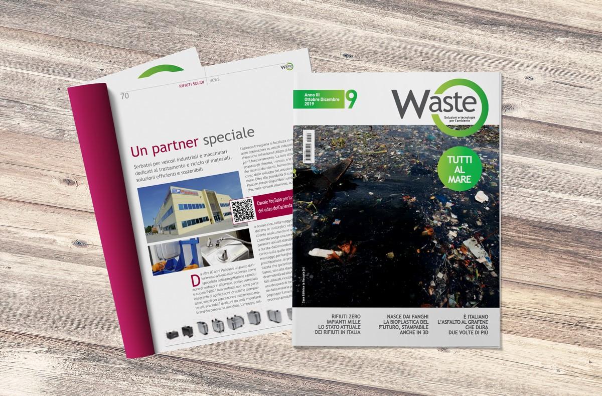 NEWS - Padoan on Waste magazine