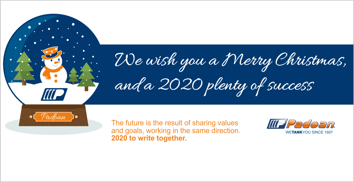 NEWS - We wish you a 2020 plenty of success