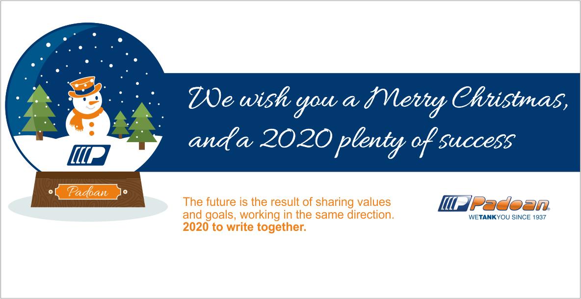NEWS - We wish you a 2020 plenty of success