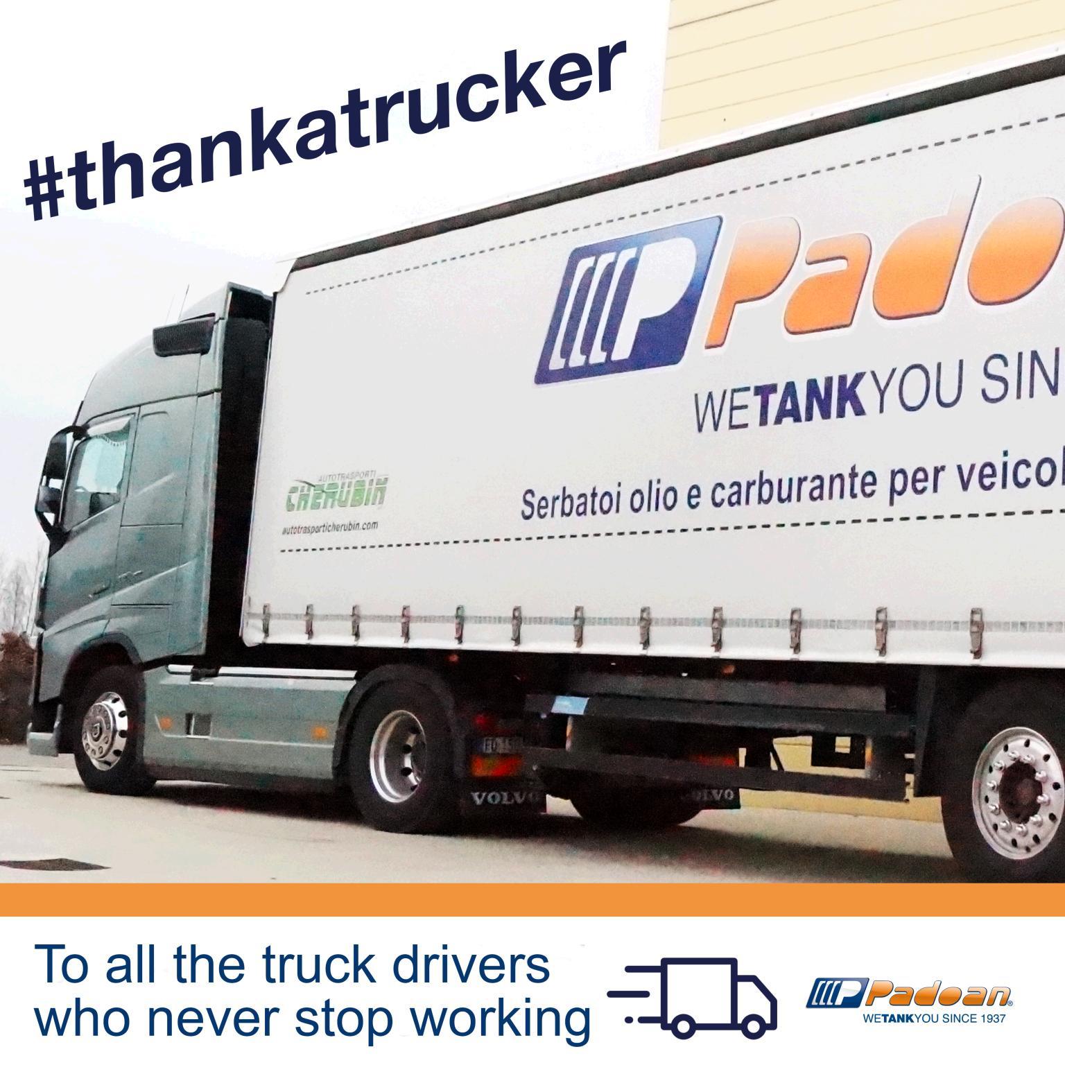 NEWS - #ThankATrucker – Il progetto