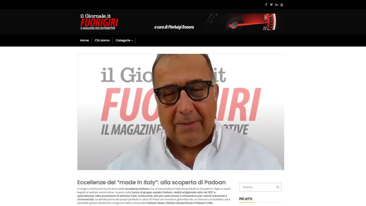 "NEWS - Stefania Padoan – Intervista a ""Fuorigiri"""